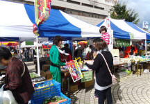 大地の感謝祭市場・震災復興応援物産会