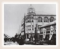 戦前の新町商店街